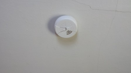Weatherization Smoke Detector
